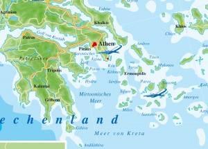 Griechenland-Saronische Golf