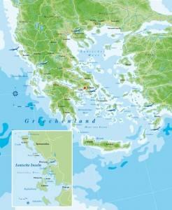 Griechenlandkarte