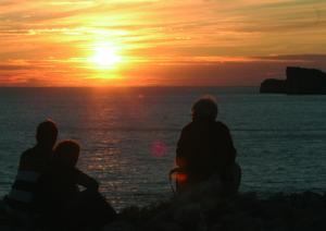 Mallorca-Sonnenuntergang