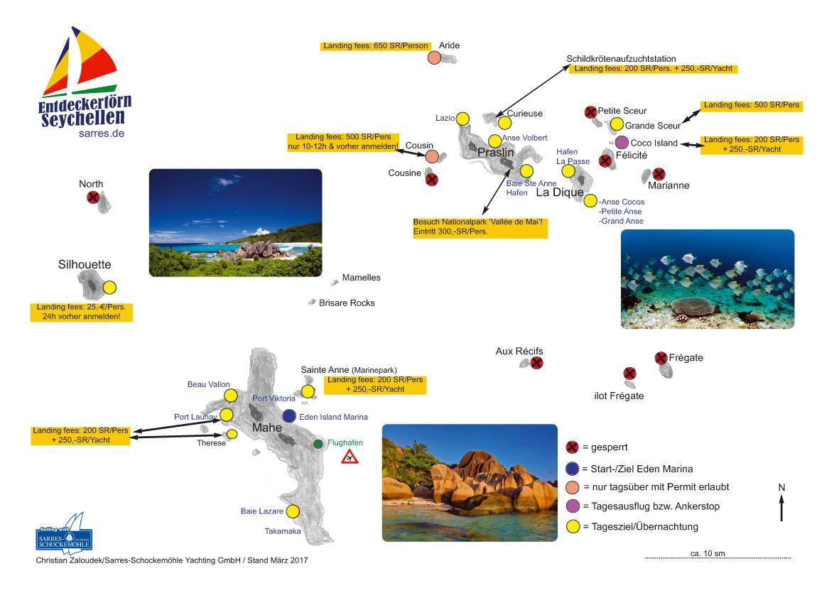 Seychellen Karte Afrika.Seychellen Sarres Schockemöhle Yachting